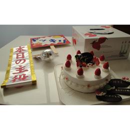 【レンタル】食べたいけど、食べられないケーキパートⅠ(白いケーキ)